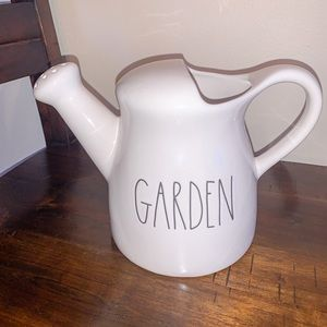 "Rae Dunn ""Garden"" watering can"